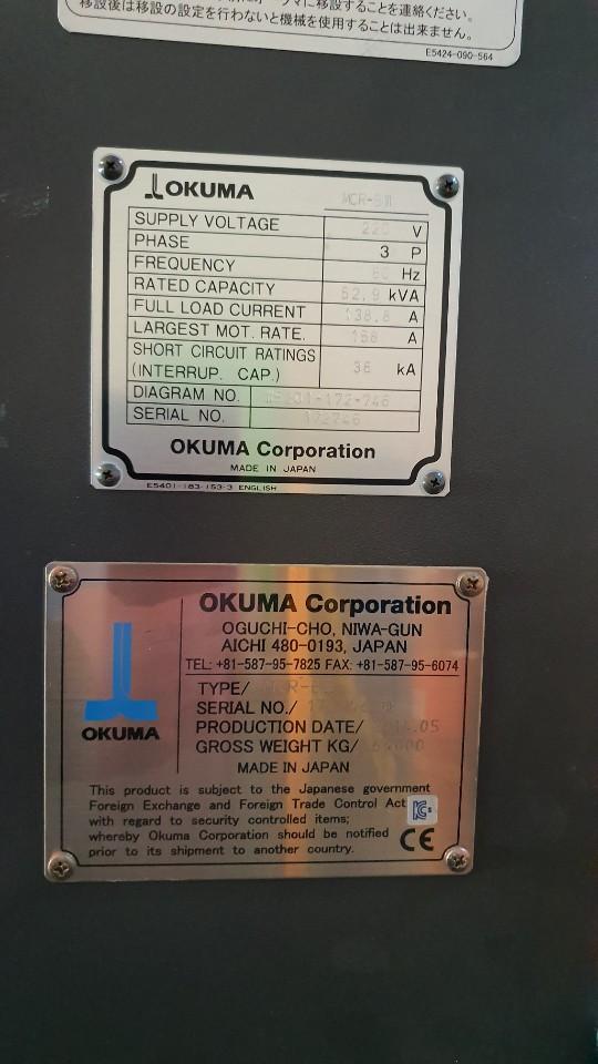 Used Okuma MCR-B III