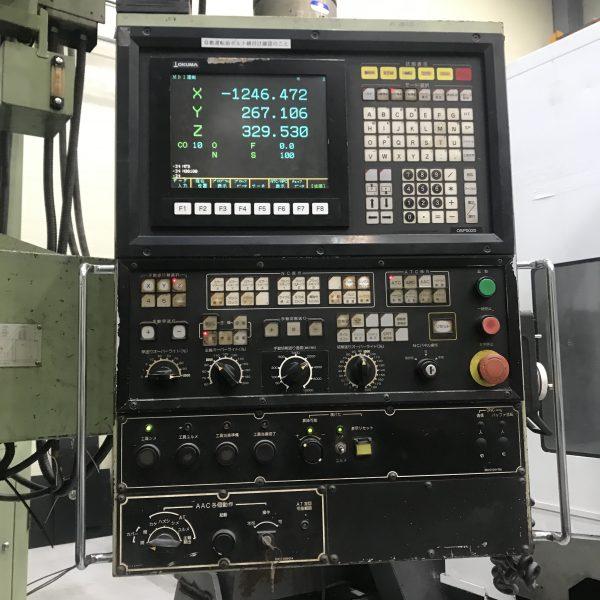 USED DOUBLE COLUMN MACHINE OKUMA MCR-20B